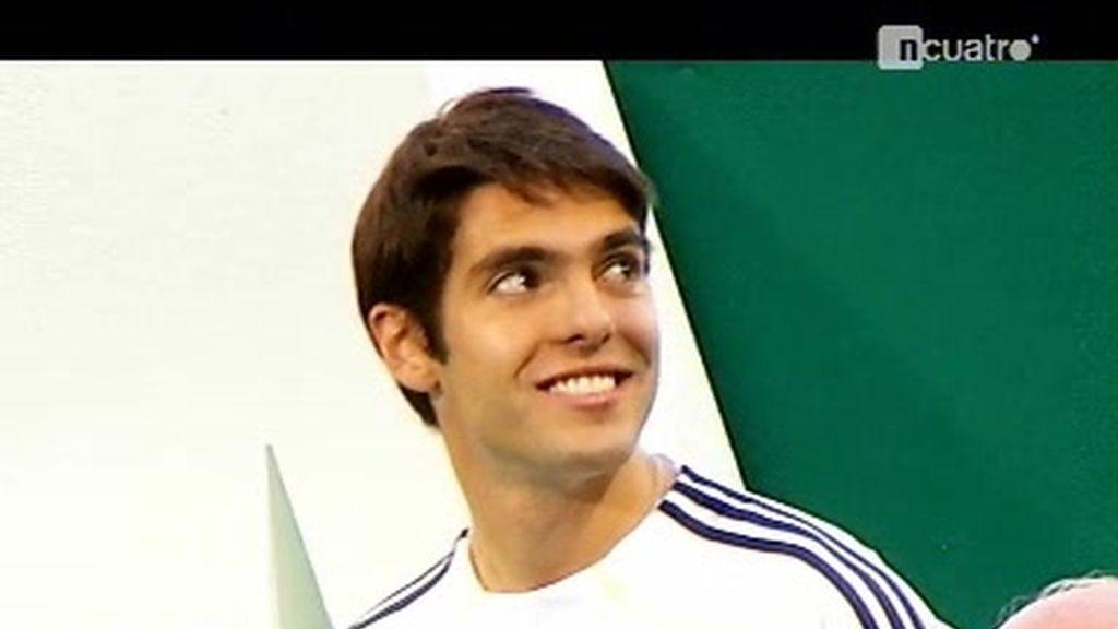 Las imágenes que nadie vio de la presentación de Kaká