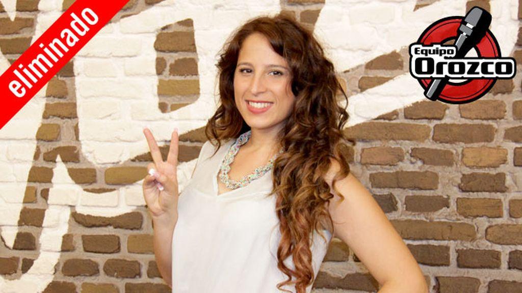 Nowi García, 22 años, equipo Orozco | Eliminada