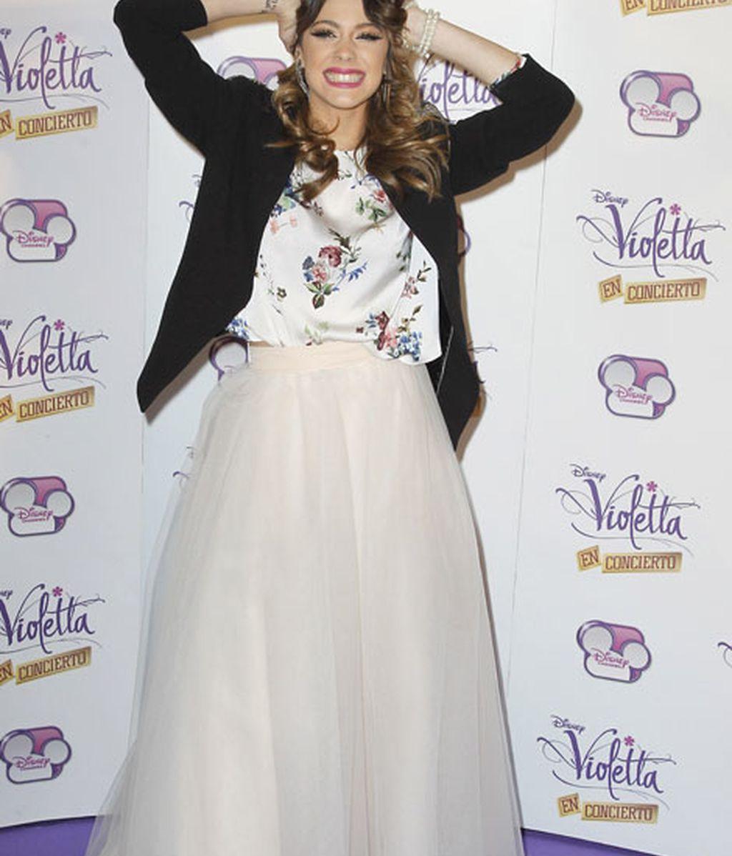 Martina Stoessel, protagonista de 'Violetta'