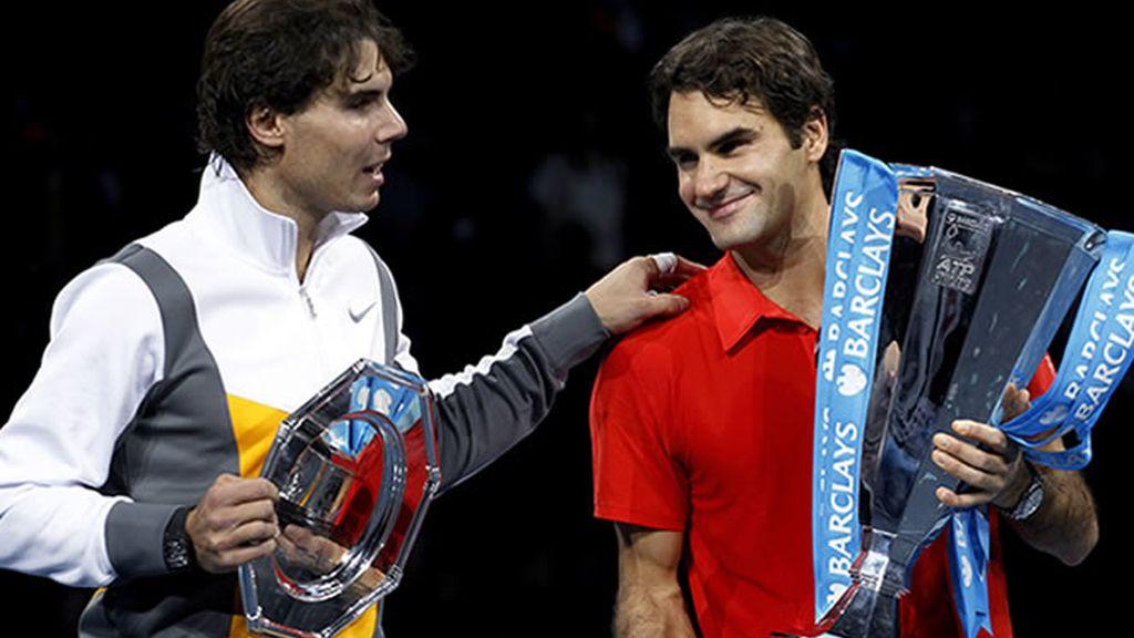 Federer gana la Masters Cup a un Nadal cansado