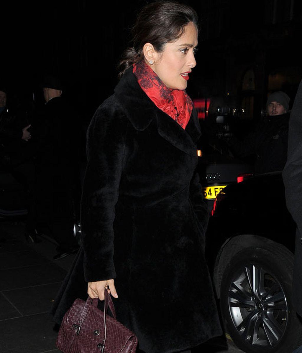 La antigua pareja, Pe y Tom Cruise, se reencuentran en Londres con Salma Hayek