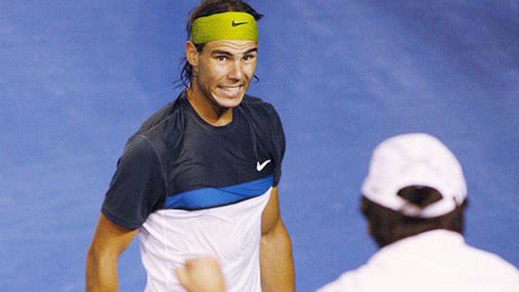 La complicidad de Rafa Nadal y su entrenador y tío Toni Nadal