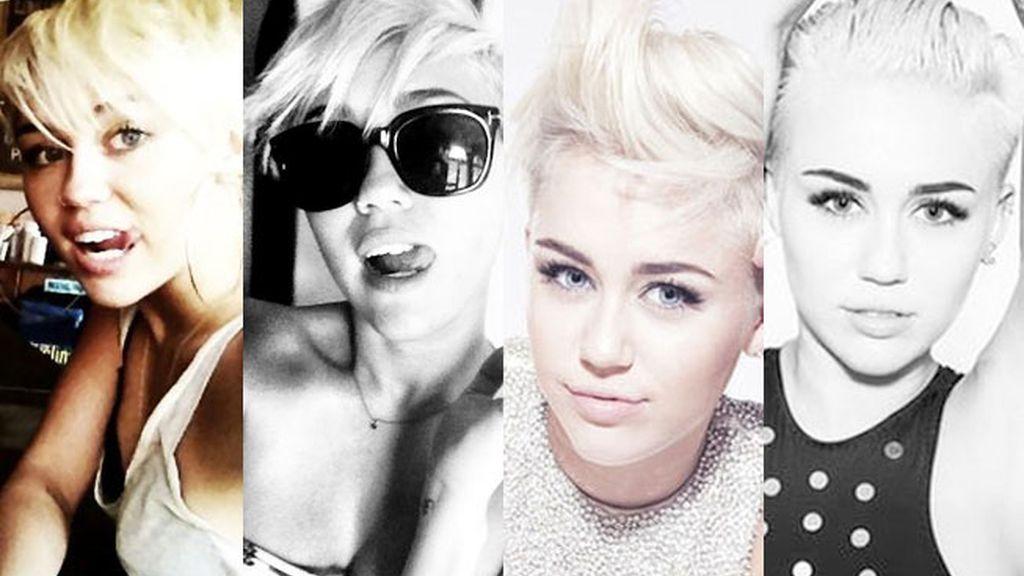 Miley Cyrus: 1 corte de pelo, 1.000 peinados