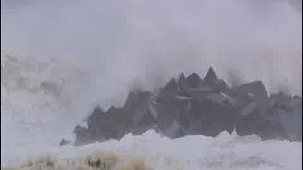 A Euskadi también le afecta el temporal