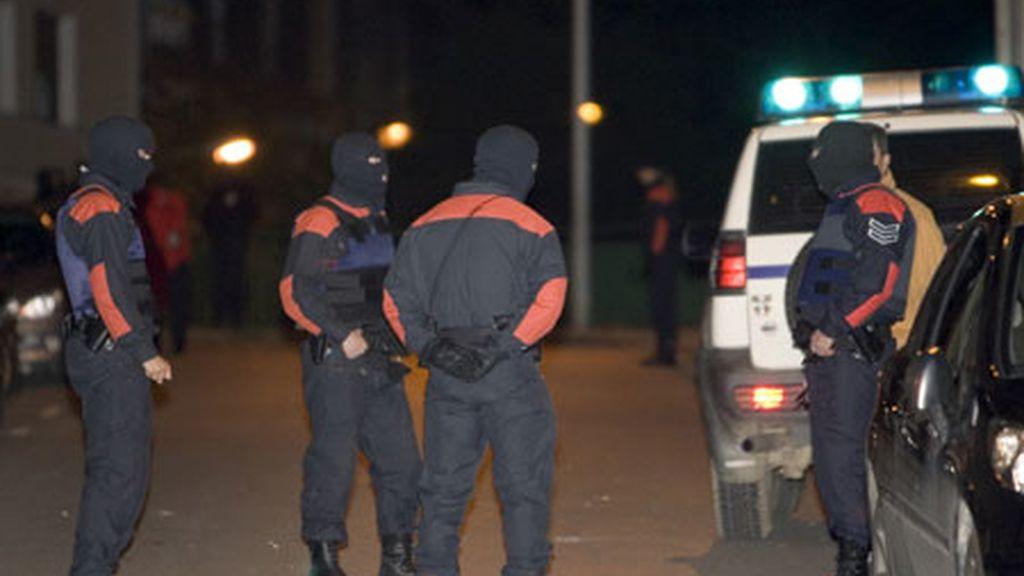 Atentado contra la sede del PSE en Elgoibar