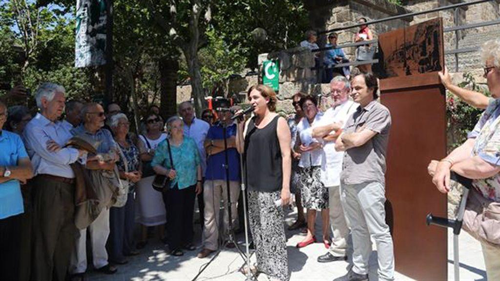 """Colau no quiere """"diferencias ni injusticias ni desigualdades"""" en los barrios de Barcelona"""