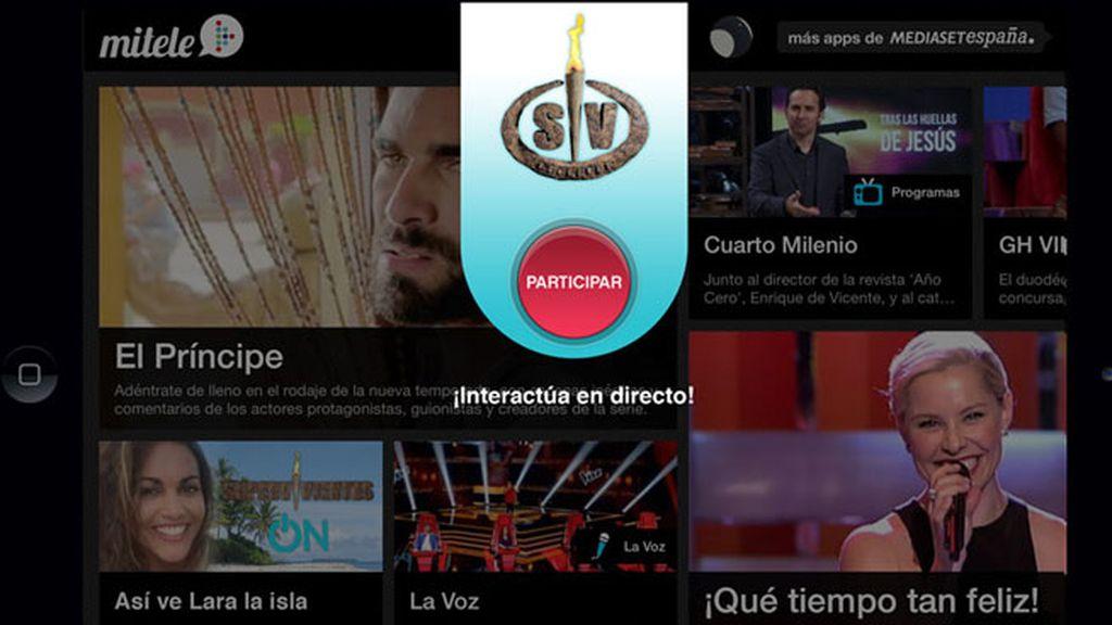 ¡Haz ON En La App De Mitele Y Conecta A Diario Con La Isla De  U0027Supervivientesu0027!
