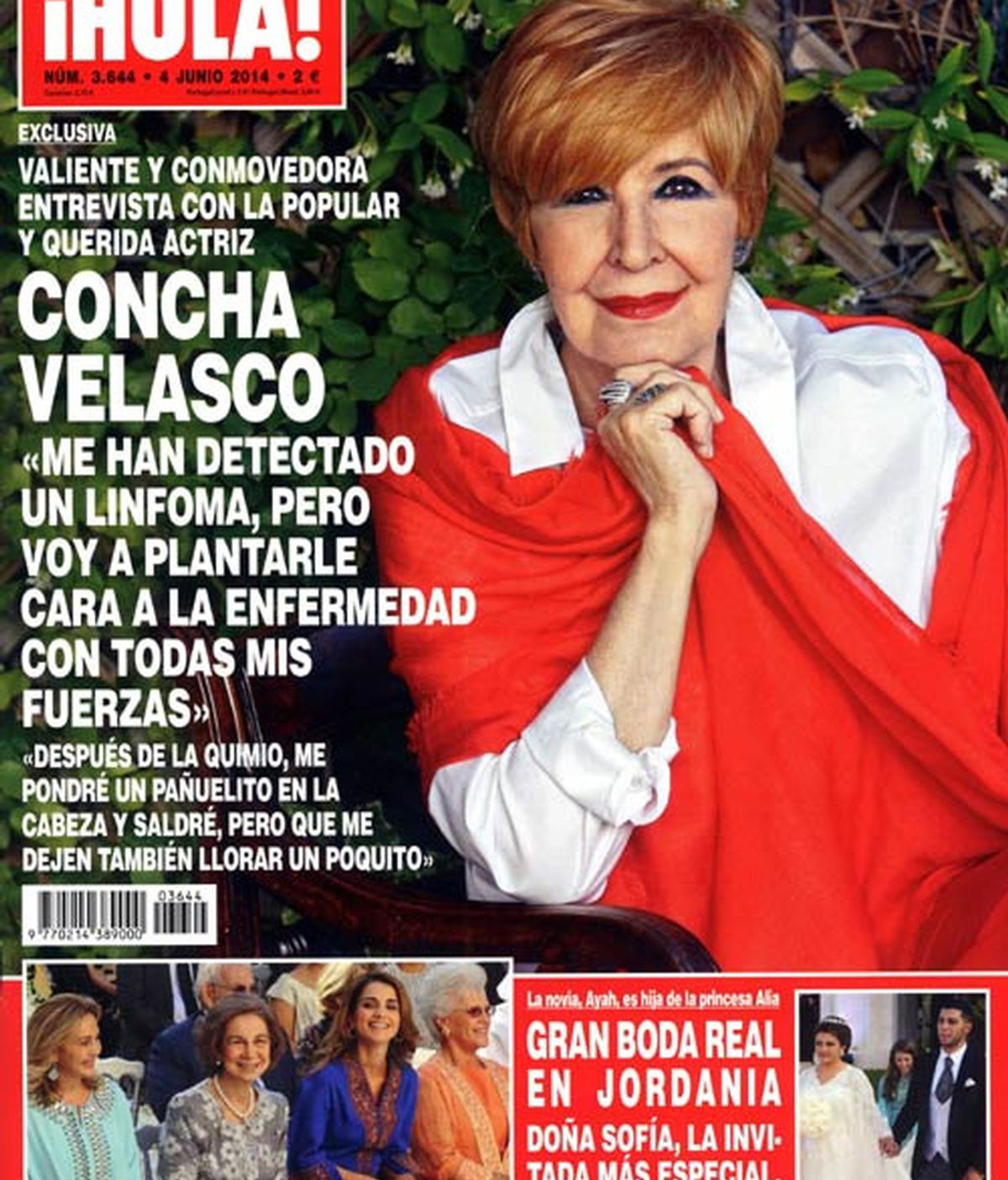 Concha Velasco revela que tiene cáncer