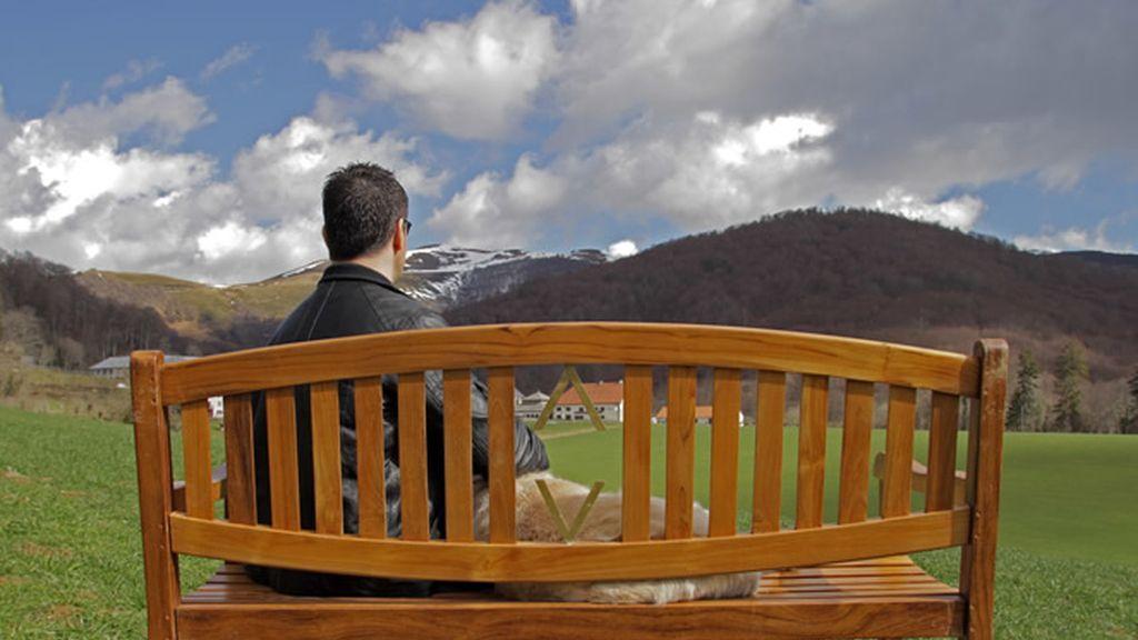 Serafín Zubiri tiene una 'vista' favorita muy especial, las montañas navarras