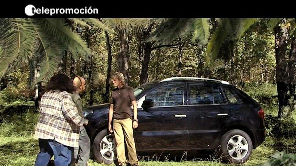Hugo y Locke ya no están tan perdidos gracias a Jesús Calleja y el Renault Koleos