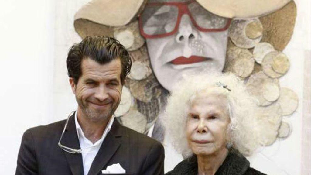 Amadrinó una colección 'pop-art' dedicada a su persona