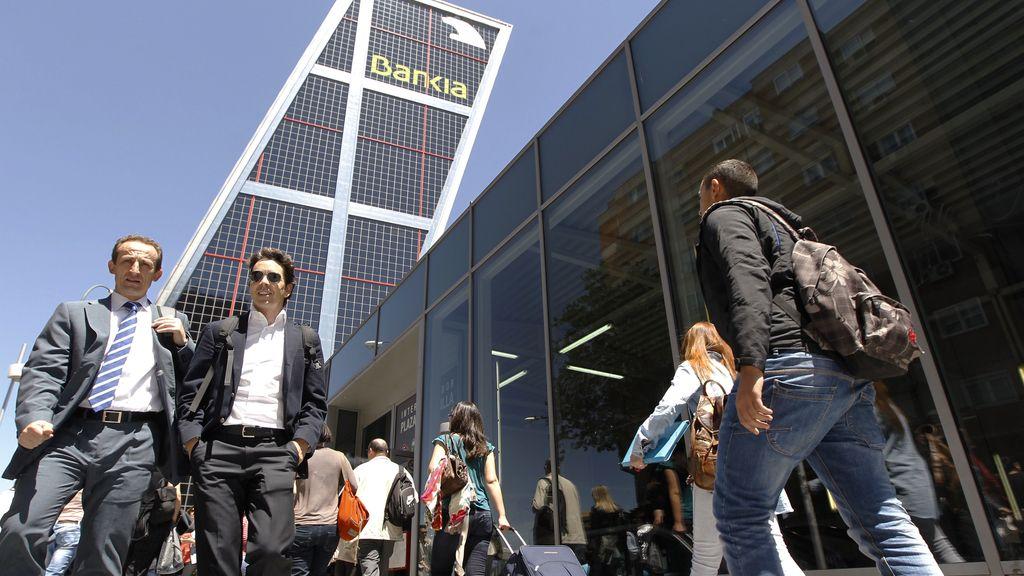 Sede central de Bankia en Madrid