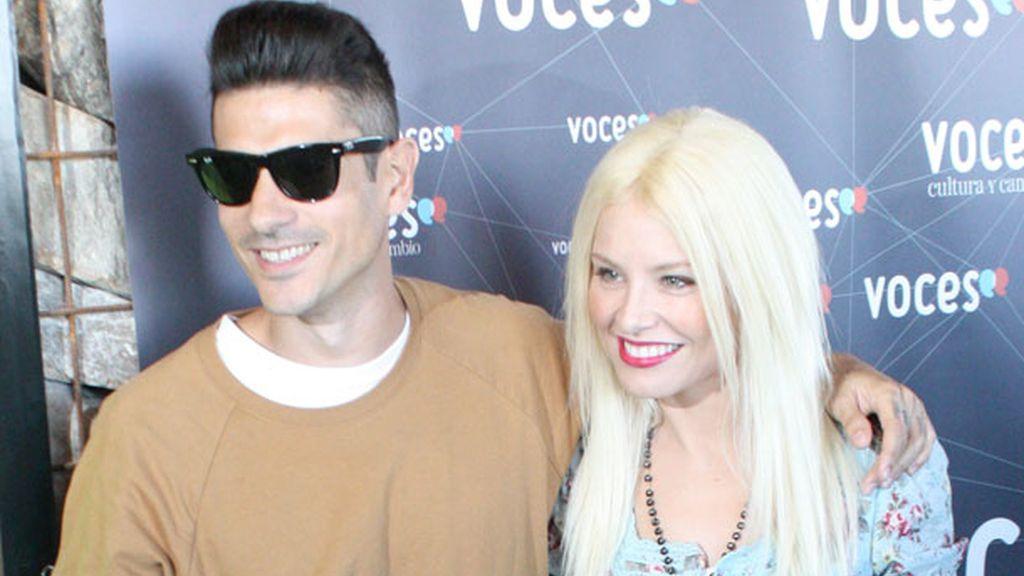 Álvaro y Soraya han colaborado ya en otras ocasiones con la fundación Voces