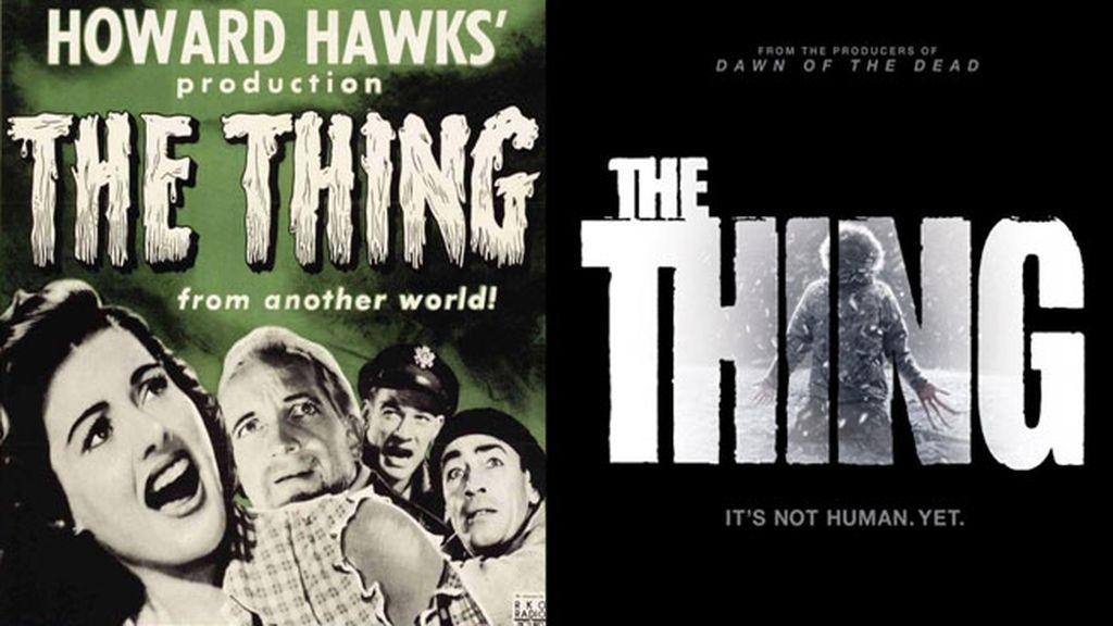 La Cosa (1982) vs El enigma de otro mundo (1951)