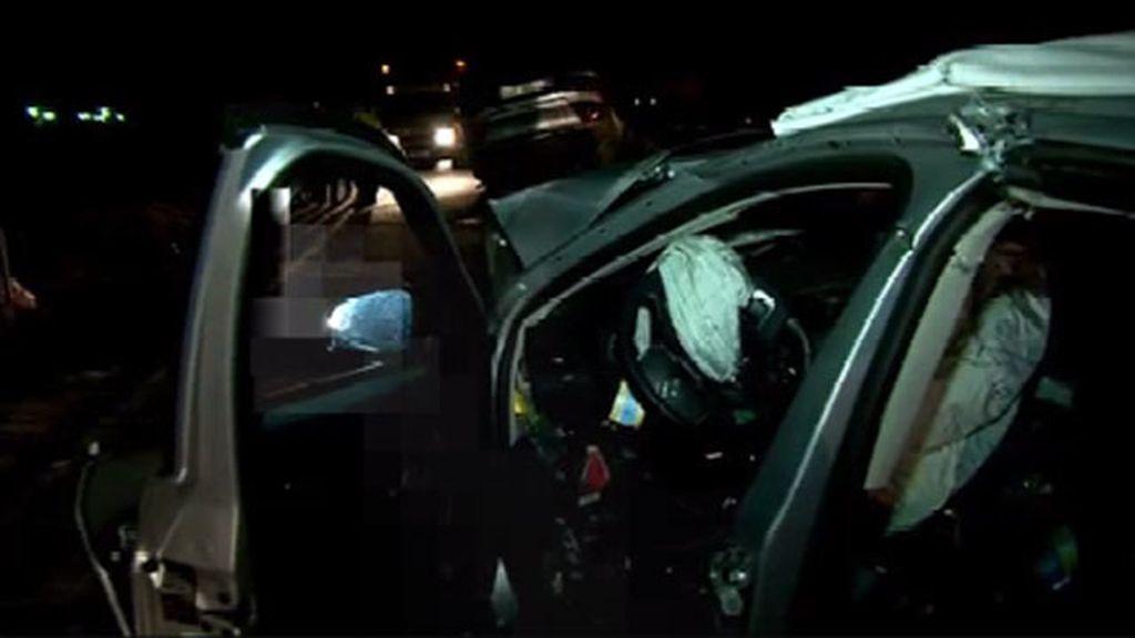 Cuatro fallecidos y varios heridos en un accidente de tráfico en Husillos (Palencia)