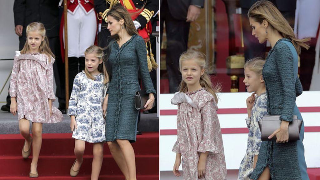 Los modelos elegidos por la reina Letizia para ella y sus hijas