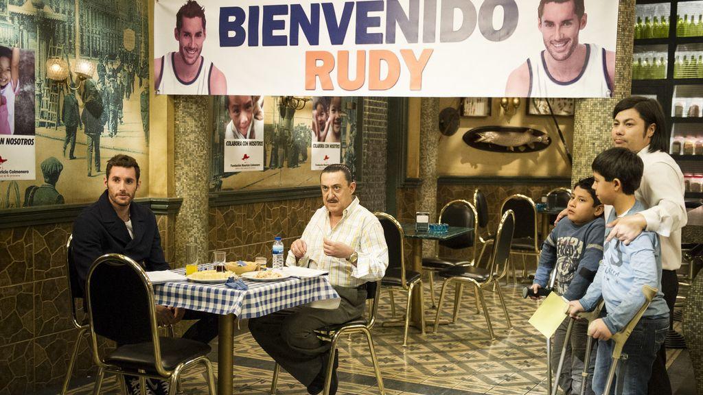 Las fotos de Rudy Fernández y Sergio Llul en 'Aída'