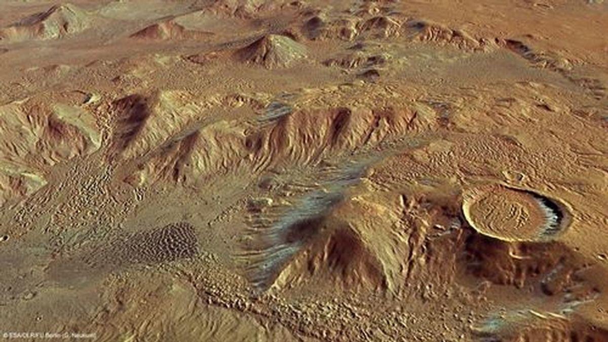 Nuevas evidencias de que la vida terrestre empezó en Marte