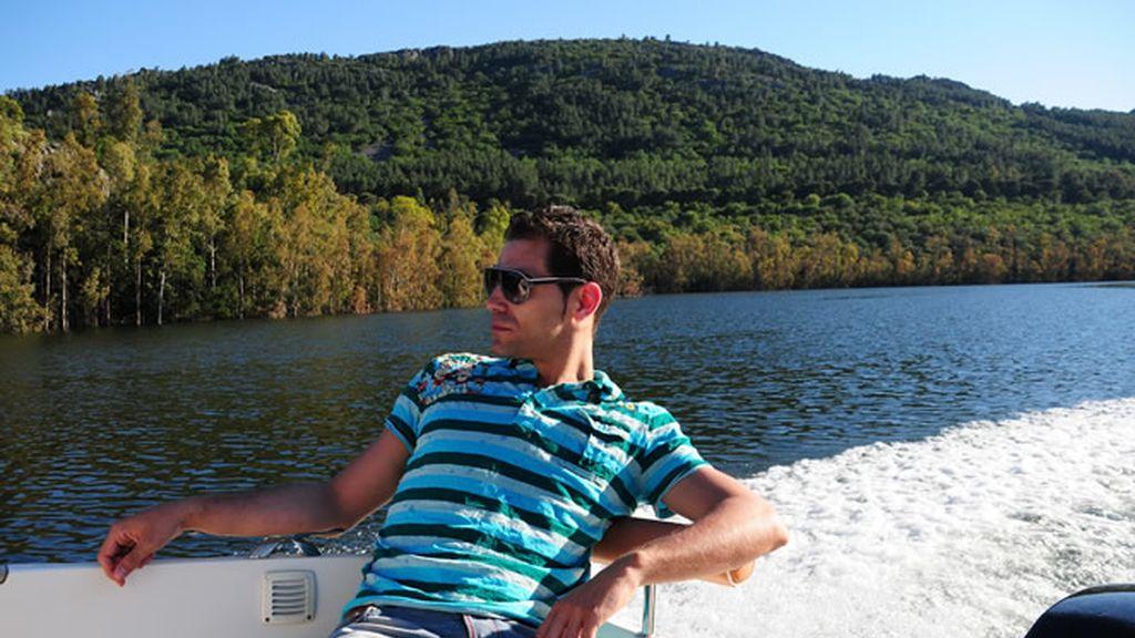 José Manuel Calderon vuelve de Toronto a Badajoz para visitar la Ribera del Guadiana