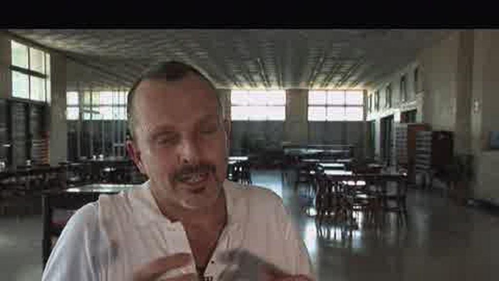 EXCLUSIVA: Entrevista con Miguel Bosé en el Concierto de Paz Sin Fronteras (segunda parte)