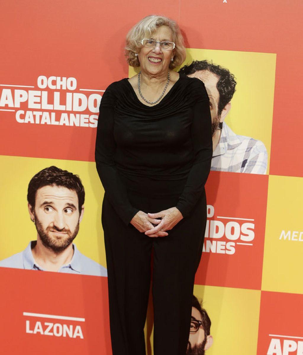 Manuela Carmena (Ahora Madrid), alcaldesa de la capital