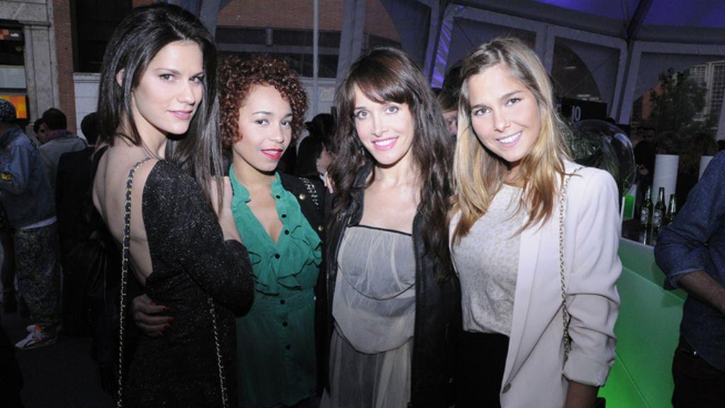 Las actrices Lidia San José, Montse Pla, Marián Zapico y Natalia Sánchez