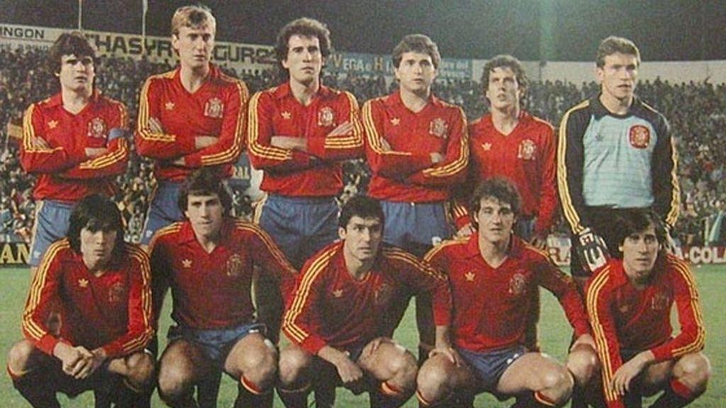 Selección española 1984