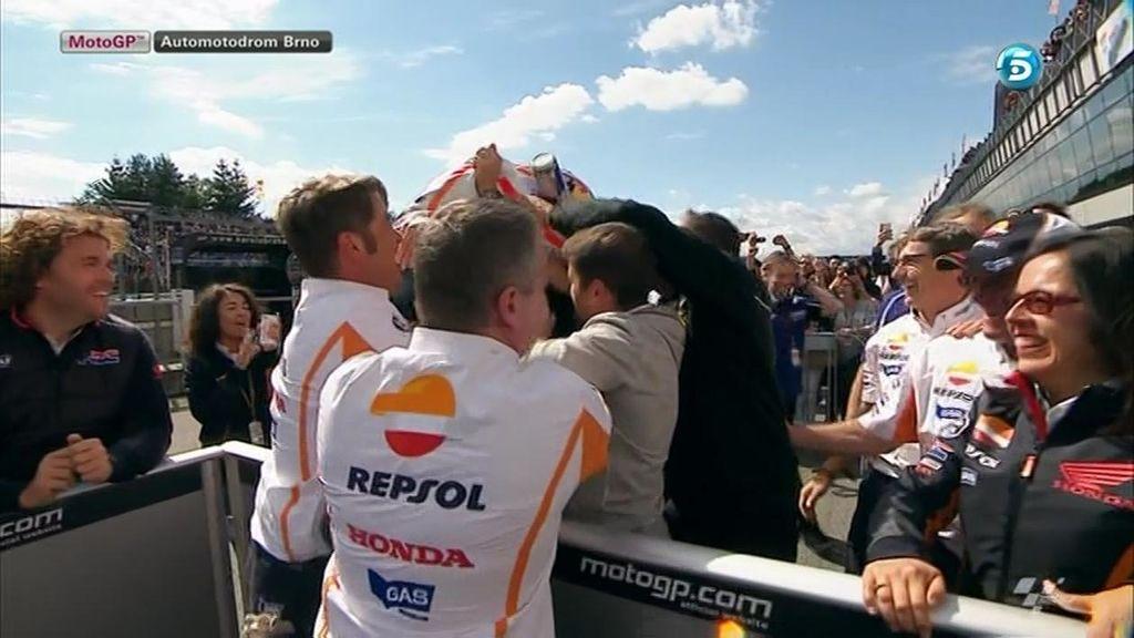 Pedrosa se lleva la victoria en el circuito de Brno