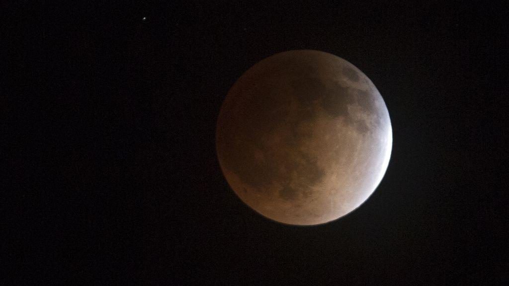 El eclipse de luna visto desde Utah