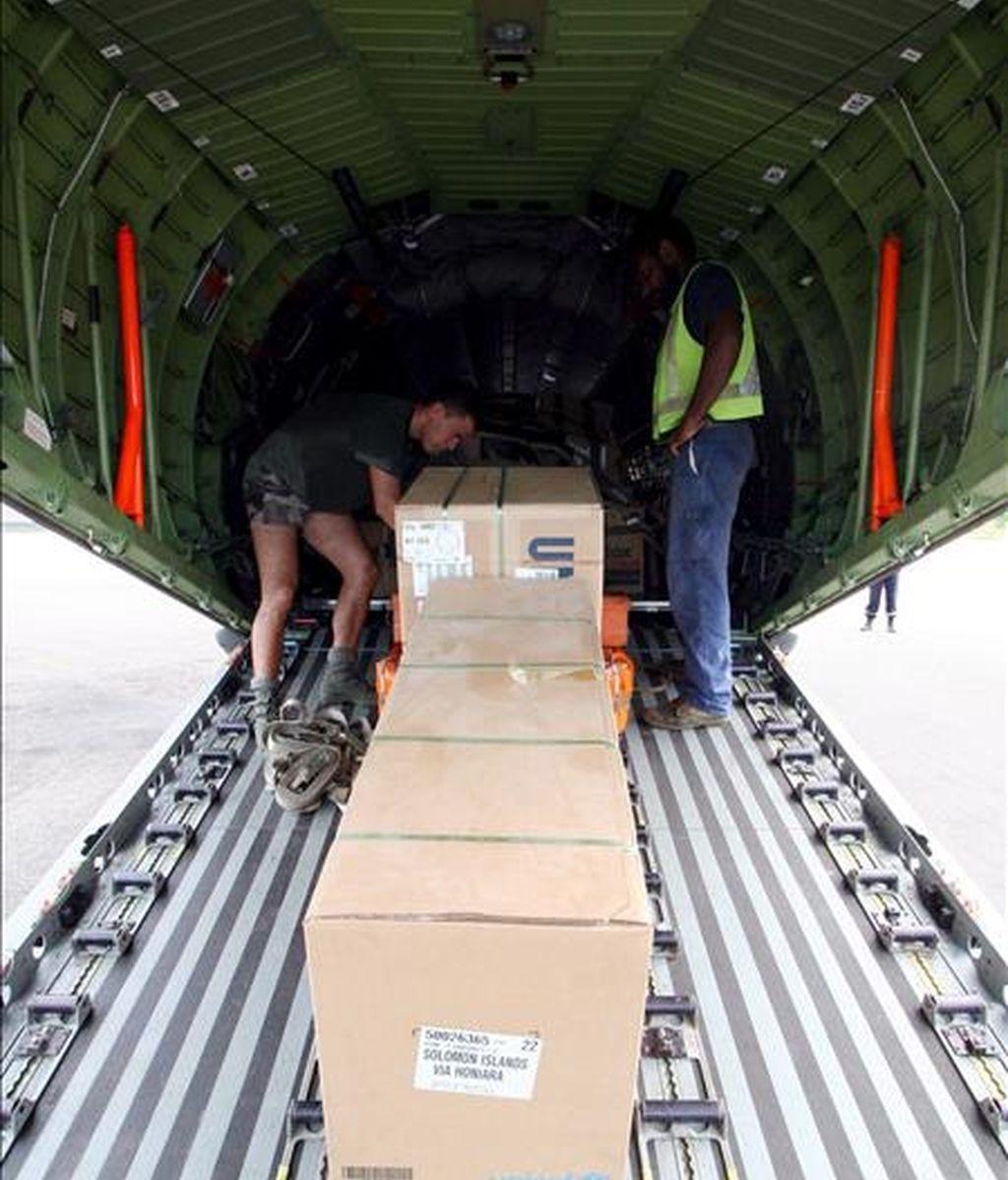 La policía de Gaza entró en los almacenes de la UNRWA en el territorio palestino y confiscó abastecimientos allí almacenados después de que trabajadores de esa agencia humanitaria se negaran a entregarlos. EFE/Archivo