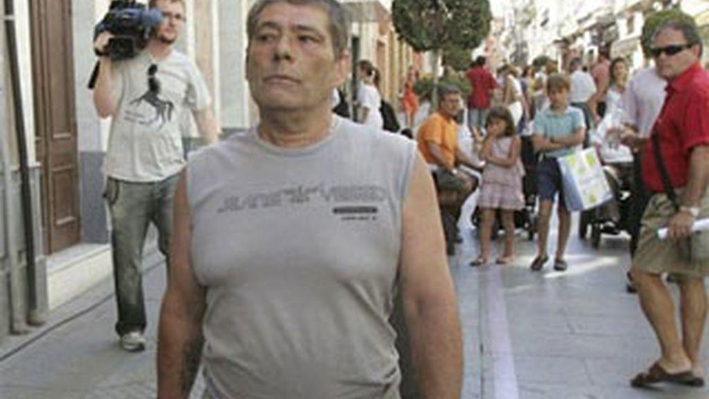 Rafael Ricardi en libertad después de haber pasado 13 años en prisión por un delito que no cometió. Foto: EFE