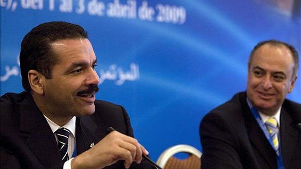 El secretario general de la Interpol, durante la inauguración de la XX Conferencia Regional para las Américas, realizada en Viña del Mar, Chile. EFE