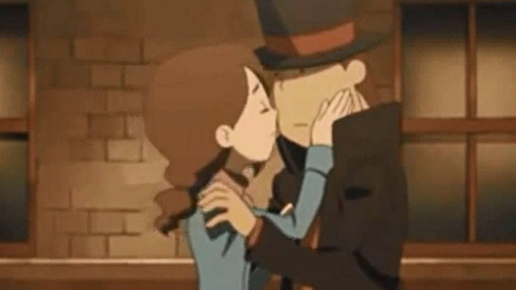 Hershel y Claire (El profesor Layton y el futuro perdido)