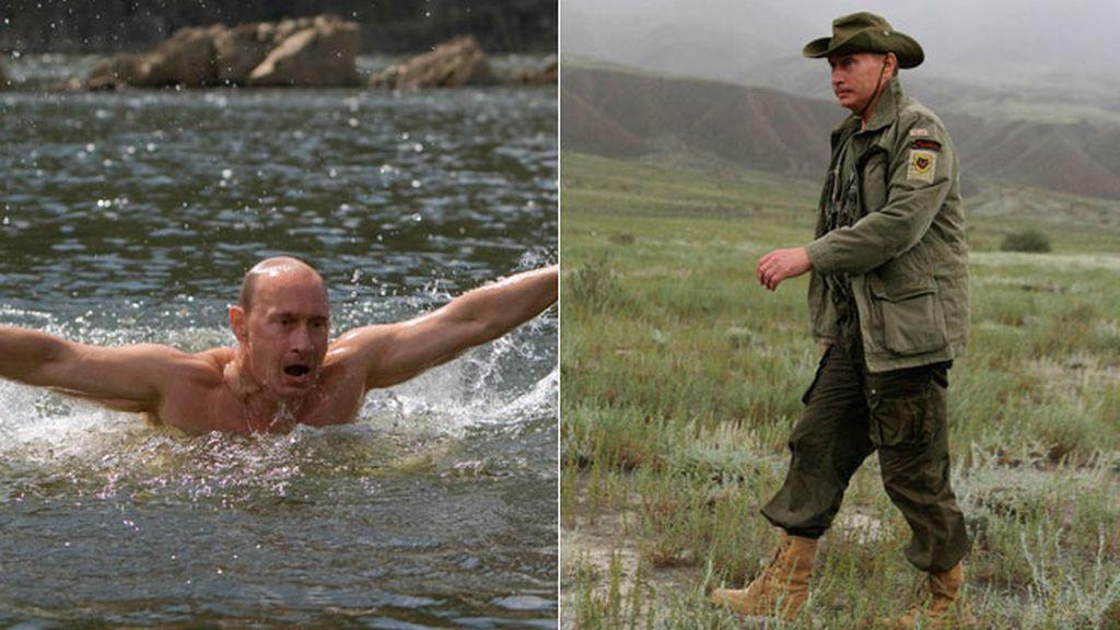 Los deportes del primer ministro ruso