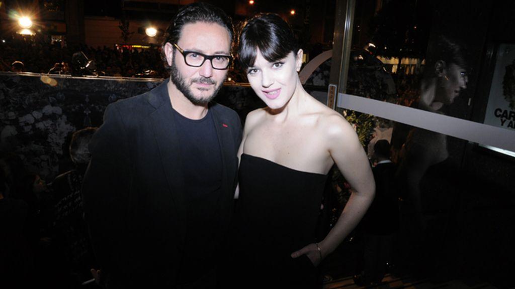 Carlos Santos y Sara Vega