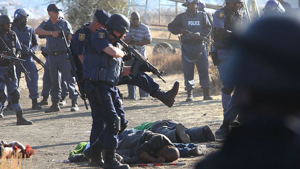 Masacre de mineros sudafricanos