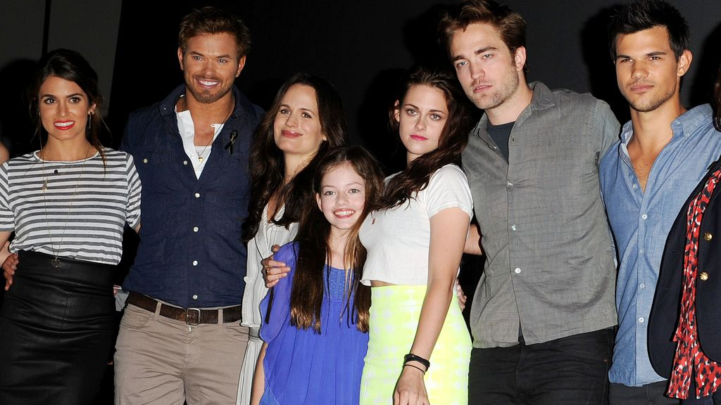 Feliz reencuentro de los actores de 'Crepúsculo'