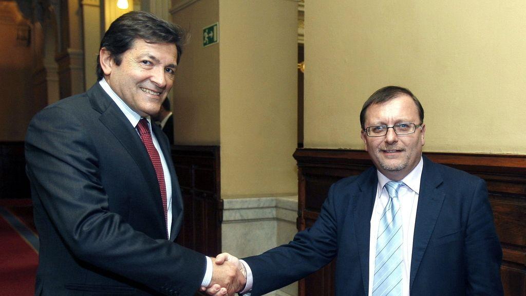Javier Fernández y Jesús Iglesias