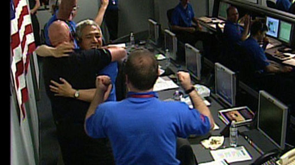 Alegría en la NASA