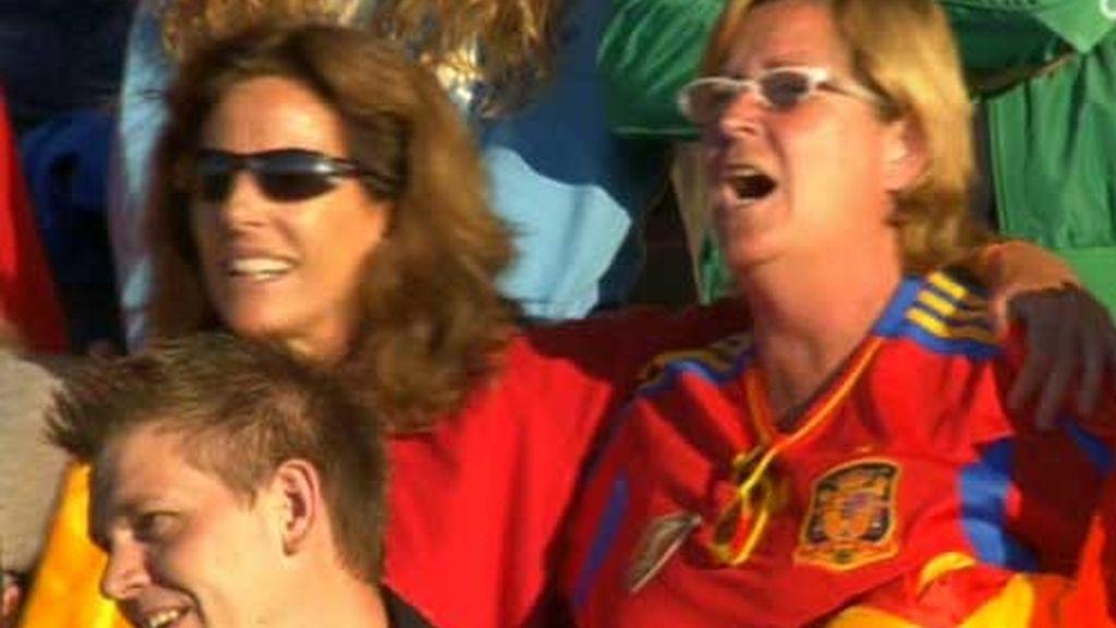 La afición española