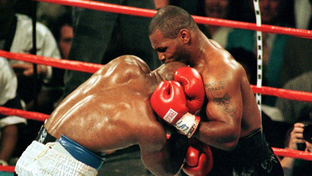 Mordisco de Tyson a Holyfield