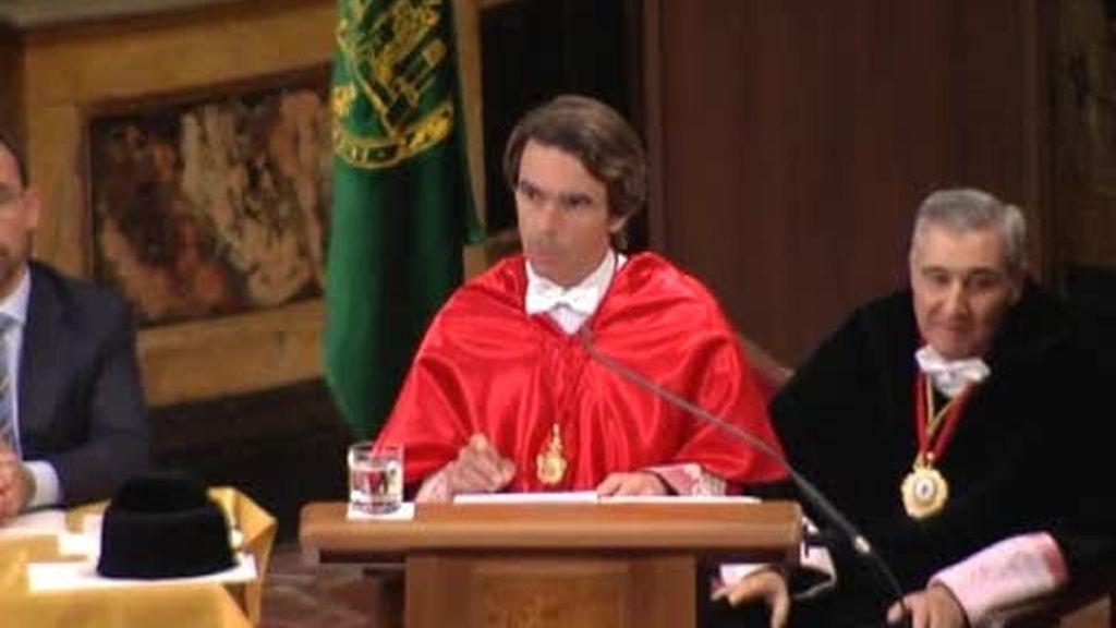 Aznar ve a ETA derrotada