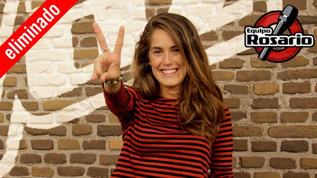 María Amolategi, 26 años, equipo Rosario | Eliminada