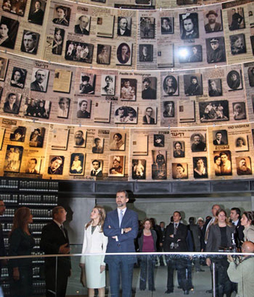 En el museo del Holocausto