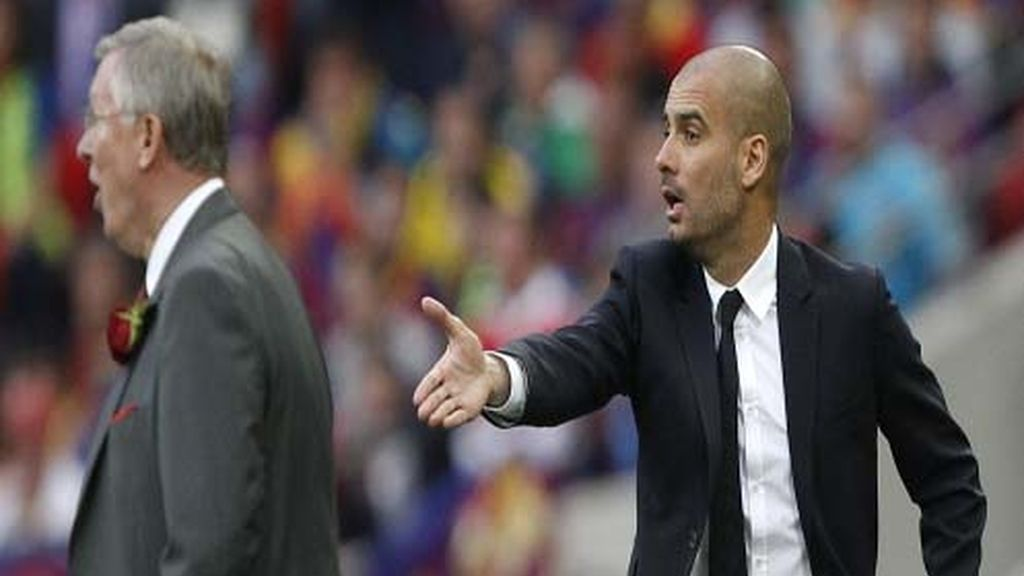 Ferguson y Guardiola dan instrucciones