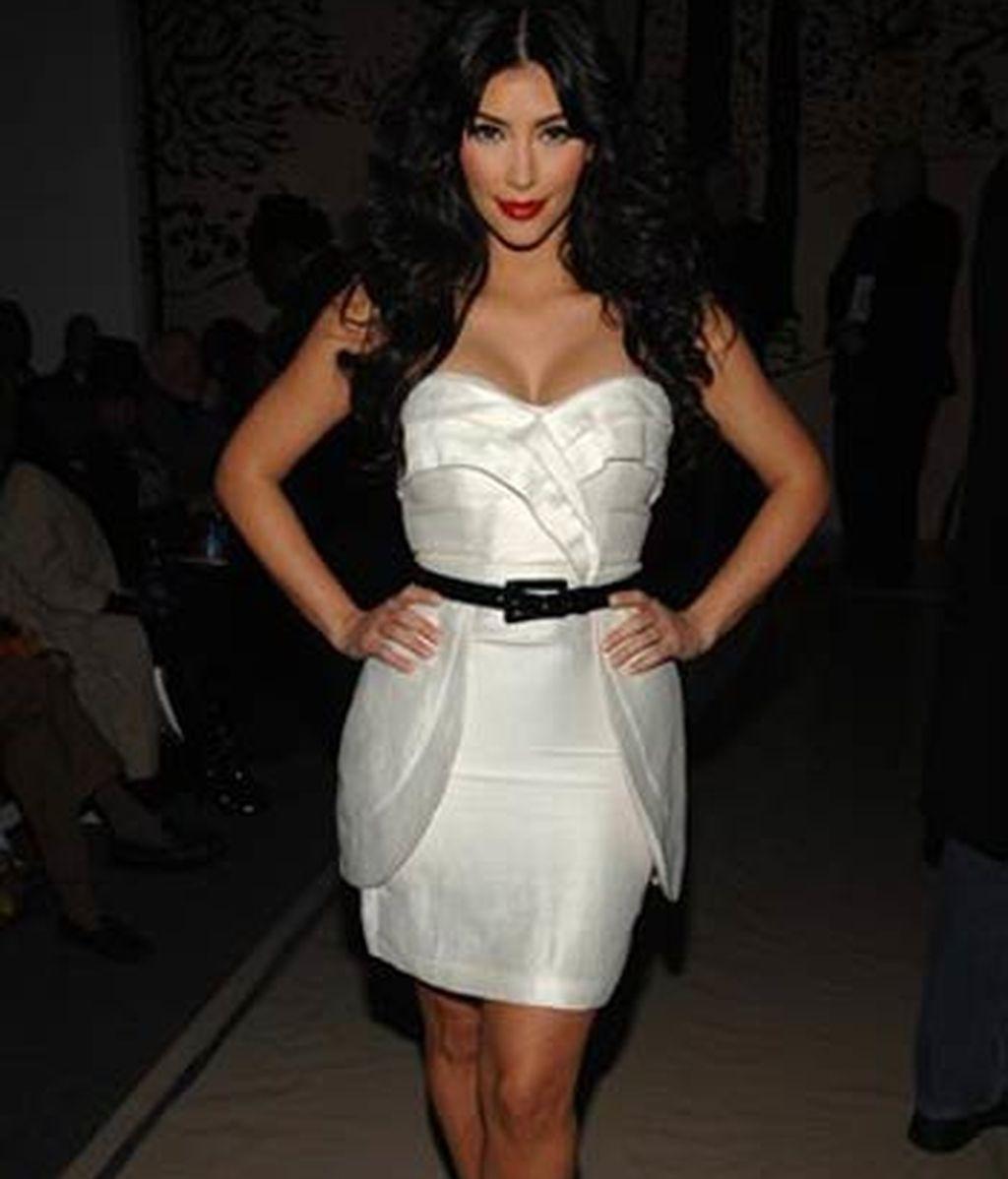 Kim Kardashian en 'FHM'
