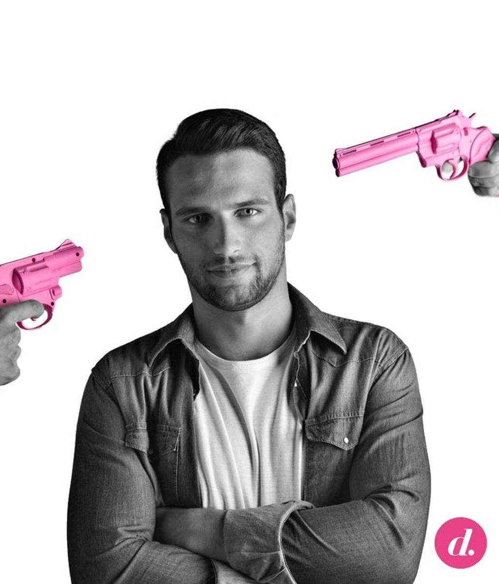 '¿Quién dice que el rosa es un color de chicas?'