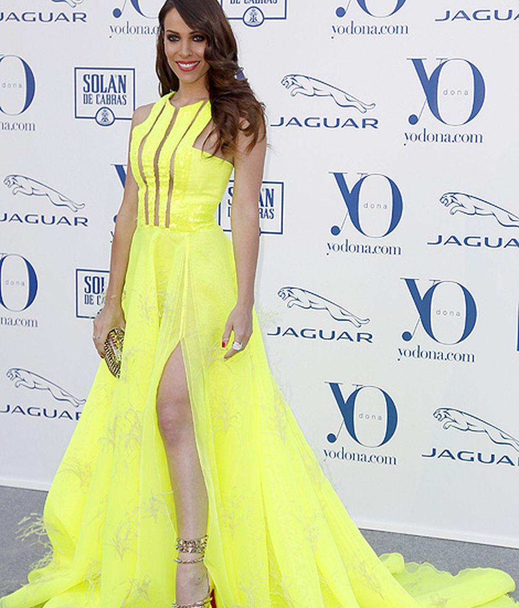 La actriz Nerea Gamendia apostó por el amarillo flúor