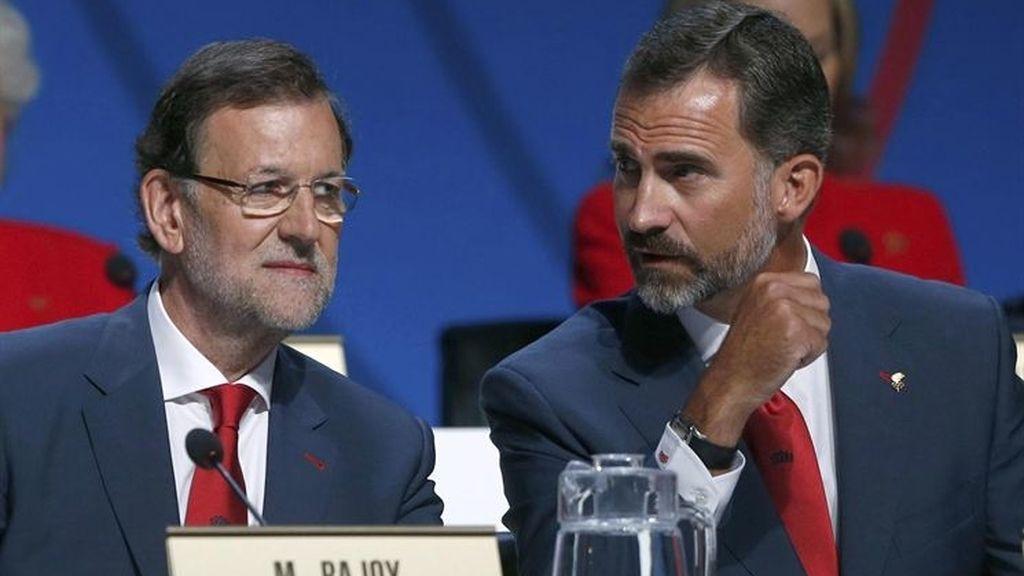Rajoy y el Príncipe Felipe, ante el COI en la defensa de Madrid 2020