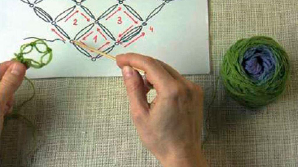 Tricotosas 20: Chal Punto Salomón